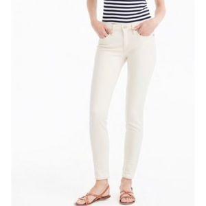 J. Crew Toothpick Painters Crop Jeans 26